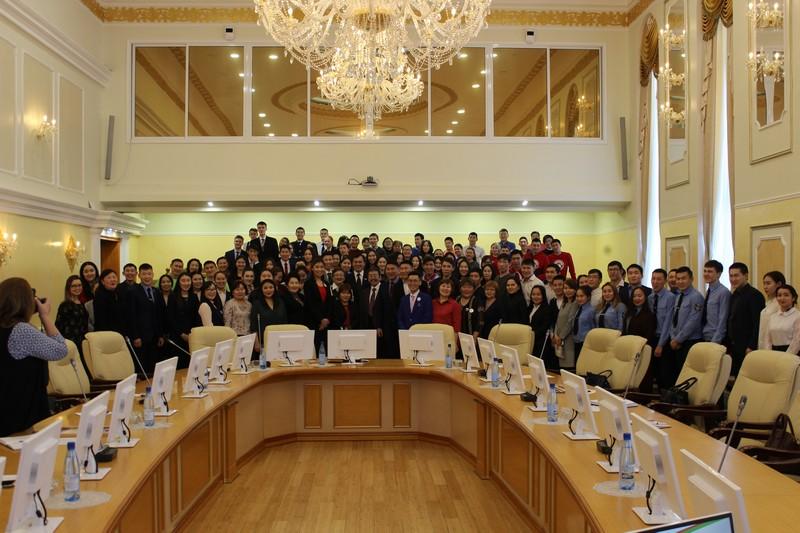 Встреча с Министром по делам молодежи и семейной полититке РС(Я) 2018