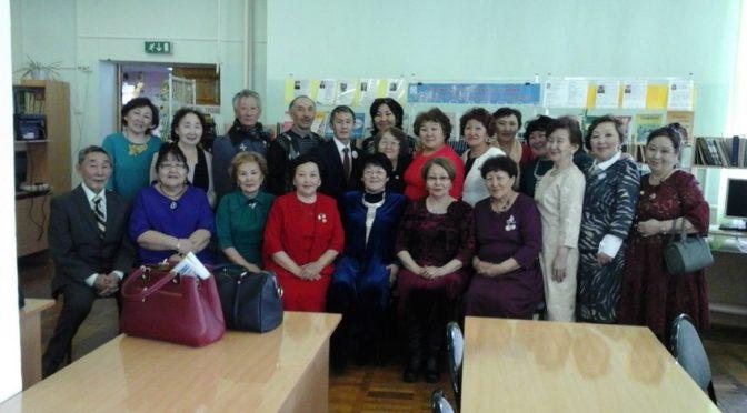В этот день прошли презенатации книг педагогов ВПК.
