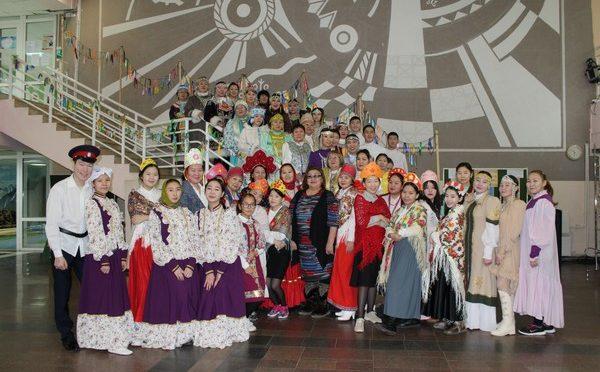 Закрытие Этно-фестиваля.