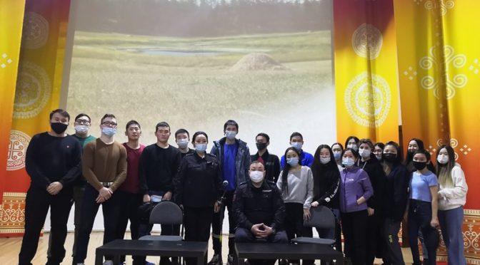 В рамках месячника психологического здоровья в колледже прошла встреча с сотрудниками ОМВД России по Вилюйскому району.