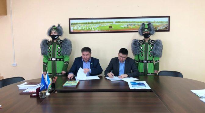 Подписано соглашение между ВППК и Нюрбинским УУО